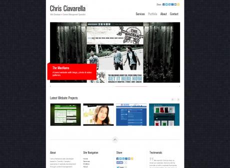 chrisciavarella.com (2012-2014)